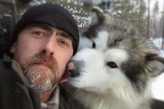 The first expedition on dog sleds to Dyatlov Pass
